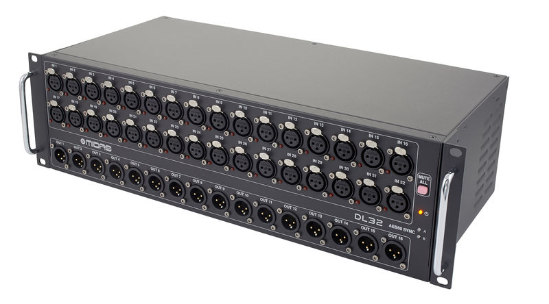 Multipar StageBox Midas DL32 3