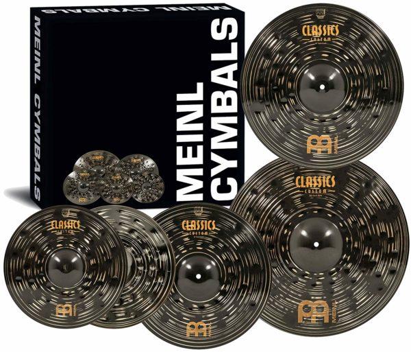 Set de Platillos Meinl Classics Custom Dark Double Bonus 1