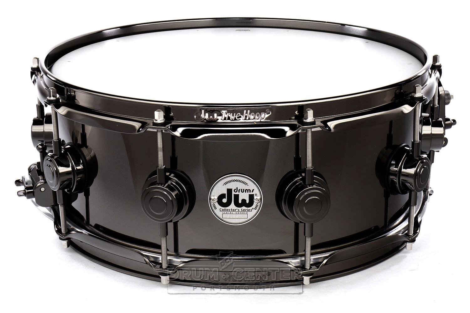 Caja DW 6.5x14in Collector's Series Black Nickel Over Brass 1