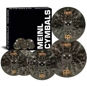 Set de Platillos Meinl Classics Custom Dark Double Bonus 3