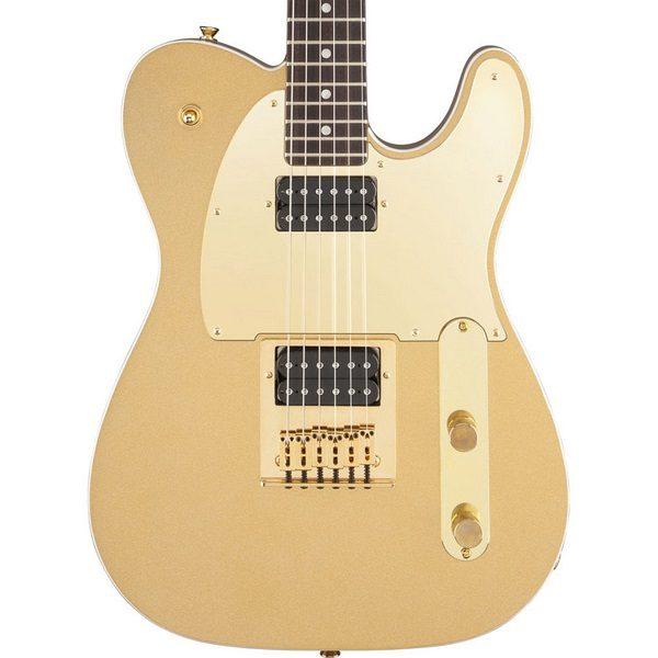 Guitarra Eléctrica Squier Telecaster J5 Frost Gold 1