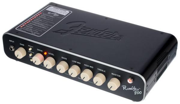 Cabezal de bajo Fender Rumble 800W 5