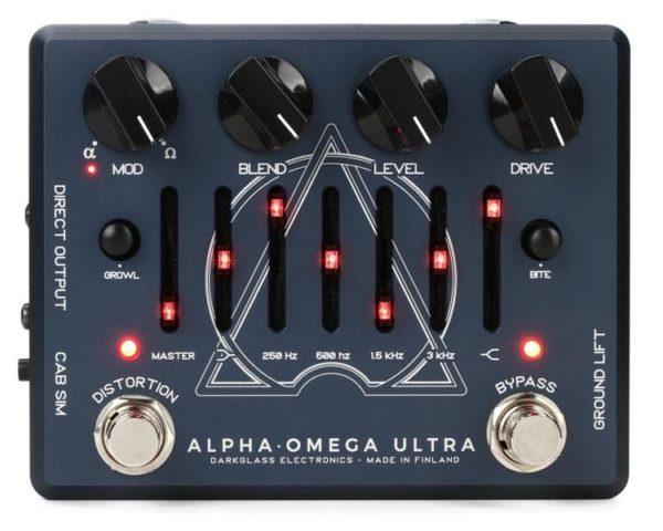 Pedal de Bajo Darkglass Alpha Omega Ultra Bass Preamp 1