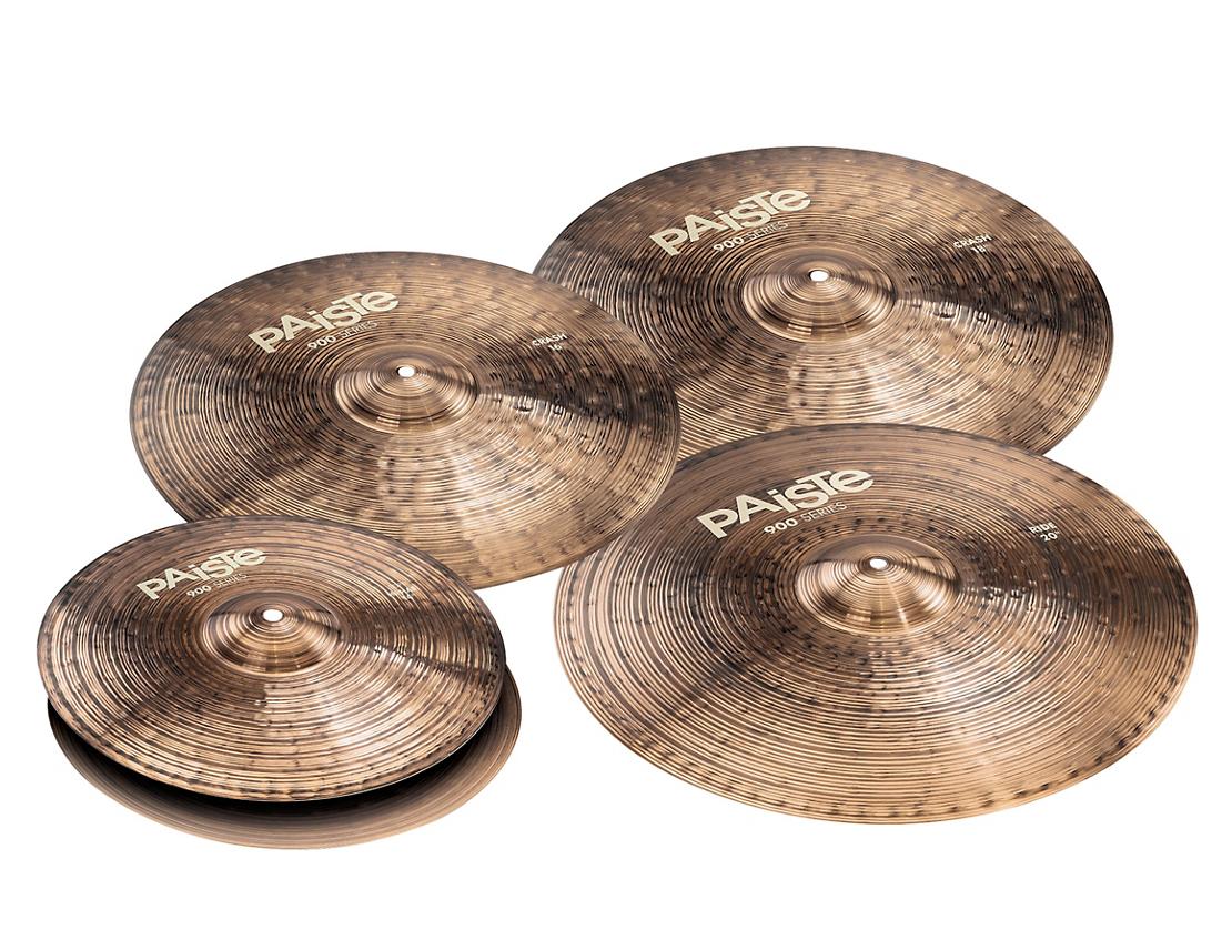 Set de Platillos Paiste 900 Series Medium Cymbal 1