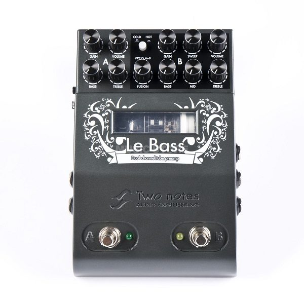 Preamp a Tubos Two Notes Le Bass 1