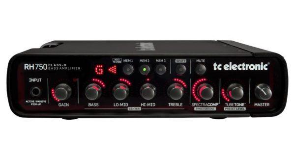 Cabezal de bajo TC Electronic RH750 3