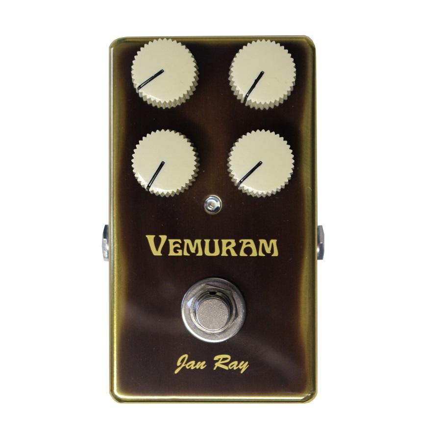 Pedal de Guitarra Eléctrica Overdrive Vemuram Jan Ray 1
