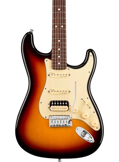 Guitarra Eléctrica Fender American Ultra Stratocaster HSS Rosewood Fingerboard 3