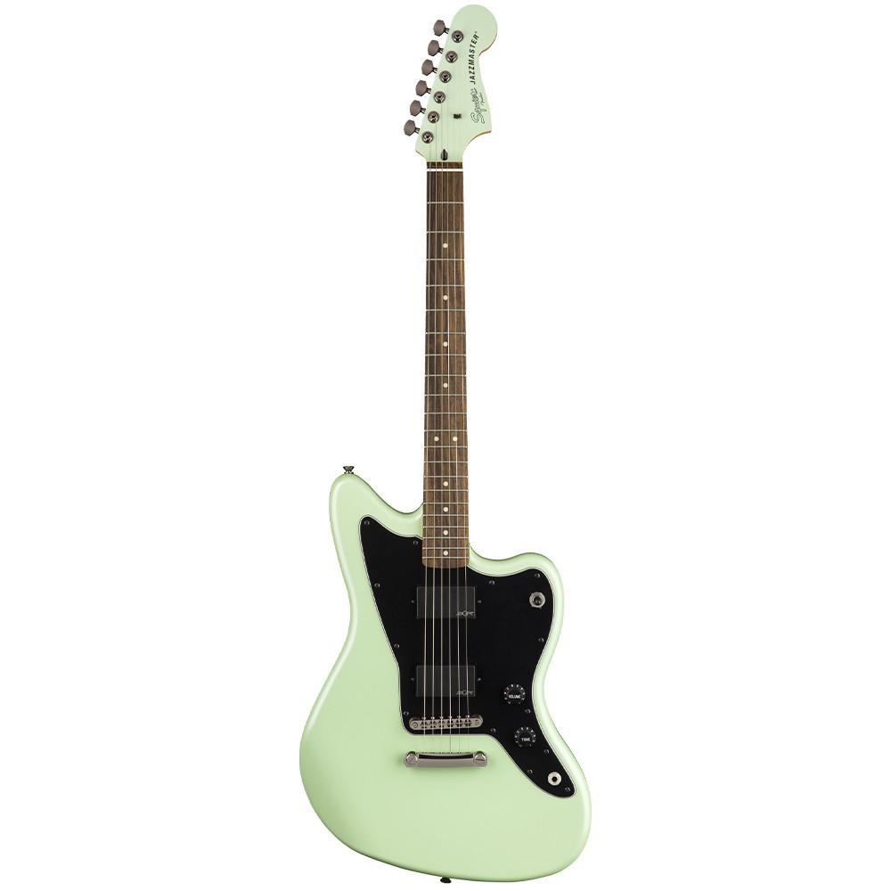 Guitarra Eléctrica Squier Jazzmaster Contemporary activa color Surf Pearl 1