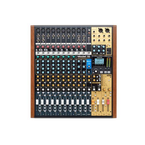 Mixer Digital e Interfaz Tascam Model 16 1