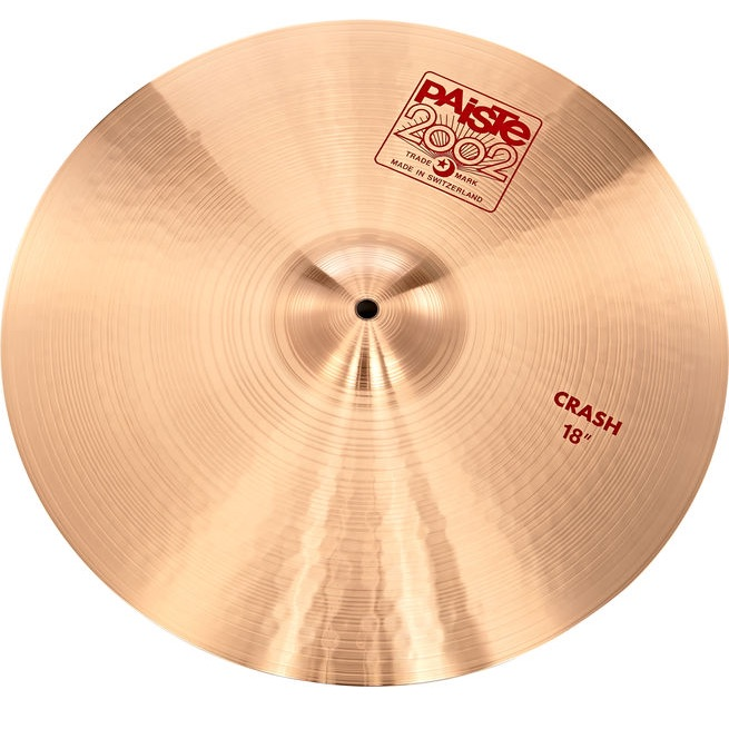 Paiste 2002 Accent Cymbal With Leather Strap 08″ 1