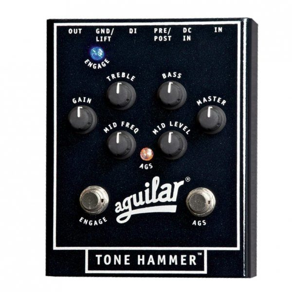 Pedal de Bajo Aguilar Tone Hammer Preamp 1