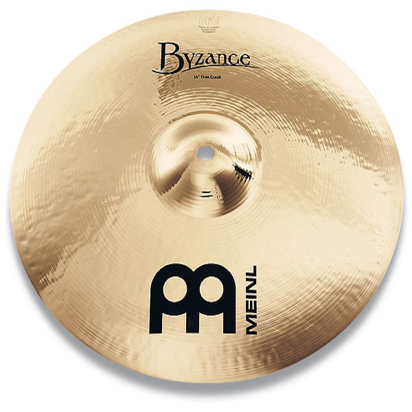 Meinl Byzance Brilliant Heavy Hammered Crash 18 1