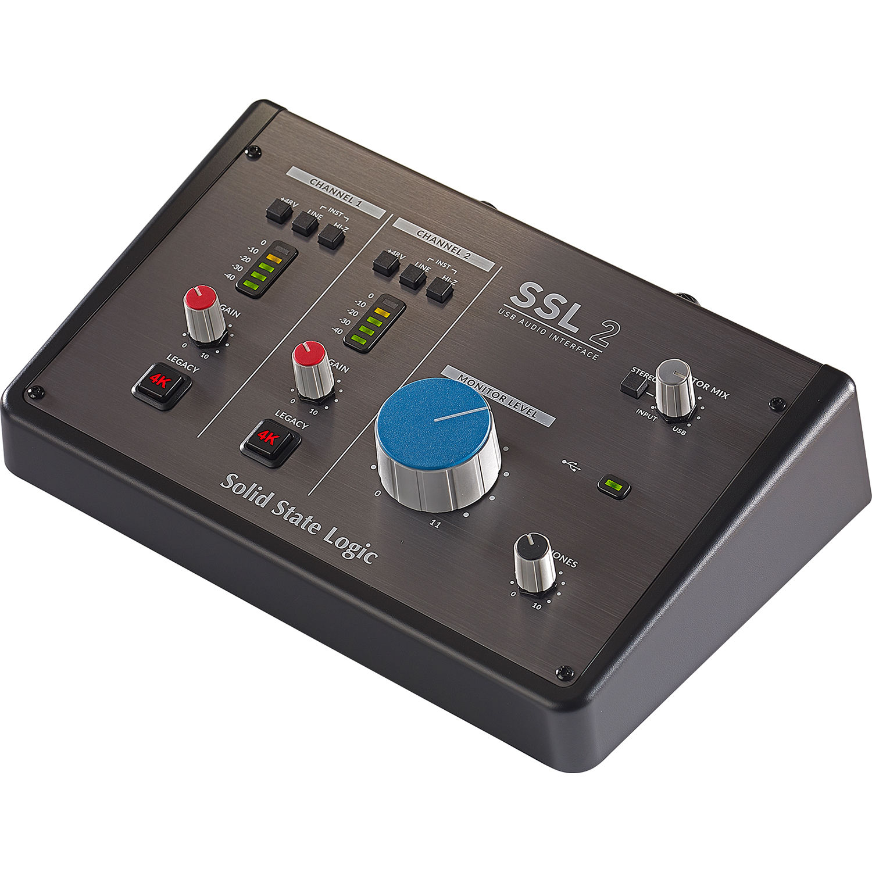 Interfaz de Audio Solid State Logic SSL 2 USB 1