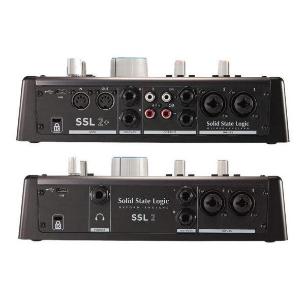 Interfaz de Audio Solid State Logic SSL 2+ USB 5