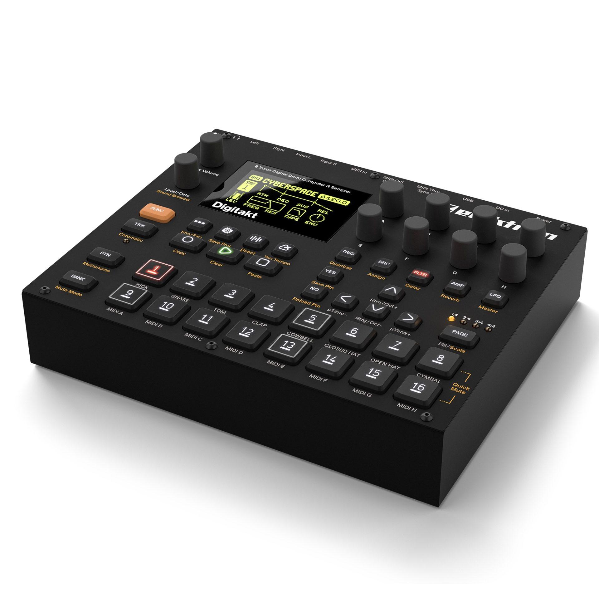Batería Digital y Sampler Elektron Digitakt 8-Voice 1