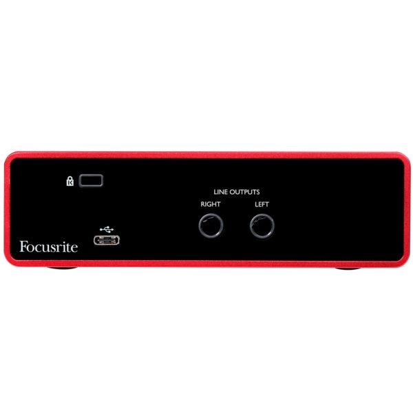Interfaz de Audio USB Focusrite Scarlett Solo (3ra Gen.) 3